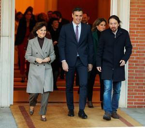Aquests són els sous del nou Govern de Pedro Sánchez