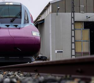Un tren Avlo.