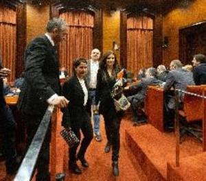 Cs abandona la comissió del 155 després de retreure a Junqueras que no demani perdó