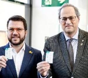 Torra exigeix al Govern espanyol que pagui els deutes pendents en infraestructures