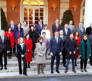 Els membres de l'Executiu del Govern espanyol.
