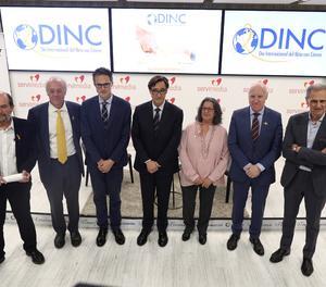 El ministre de sanitat, Salvador Illa, ha clausurat una jornada sobre càncer infantil a Madrid.