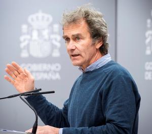 El director del Centre de Coordinació d'Alertes i Emergències Sanitàries, Fernando Simón.