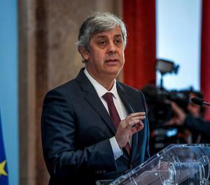 El president de l'eurogrup, Mario Centeno.