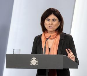 La cap d'àrea del Centre de Coordinació d'Alertes i Emergències Sanitàries del Ministeri de Sanitat (CCAES), María José Sierra.
