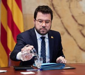 El vicepresident del Govern, Pere Aragonés.