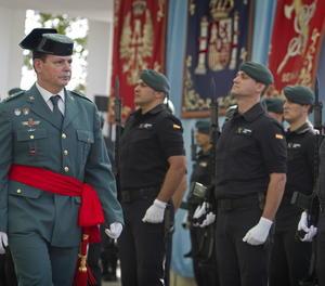El director adjunt operatiu (DAO) de la Guàrdia Civil, Laurentino Ceña
