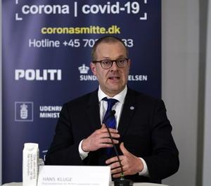 El director regional de l'Organització Mundial de la Salut (OMS) per a Europa, Hans Kluge.