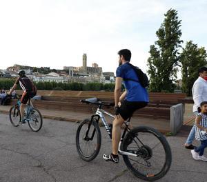 La bicicleta ha guanyat presència en la mobilitat urbana.
