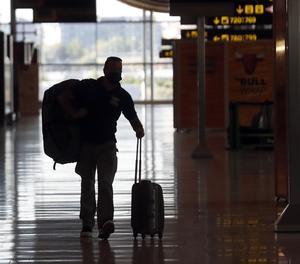 Zona d'arribades de la Terminal 4 de l'Aeroport de Madrid-Barajas Adolfo Suárez