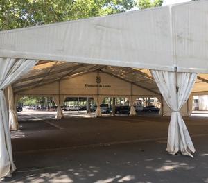 La Paeria instal·la una carpa per a temporers a la Fira de Lleida