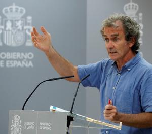 El director del Centre de Coordinació d'Alertes i Emergències Sanitàries, Fernando SimóEl director del Centre de Coordinació d'Alertes i Emergències Sanitàries, Fernando Simónn
