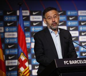 El president del FC Barcelona, Josep Maria Bartomeu