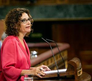 La ministra d'Hisenda, María Jesús Montero.