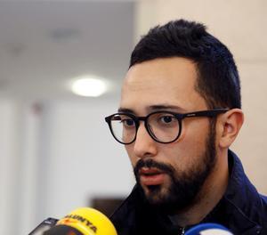 El raper Josep Miquel Arenas, conegut com a Valtònyc