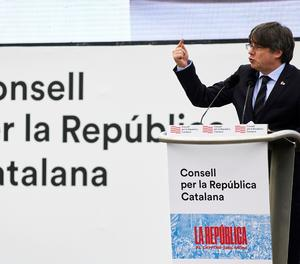 L'expresident de la Generalitat, Carles Puigdemont.