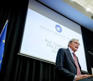 El director executiu de l'Agència Europea de Medicaments (EMA, en anglès), l'italià Guido Rasi.