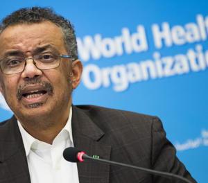 El director general de l'Organització Mundial de la Salut (OMS), Tedros Adhanom Ghebreyesus.