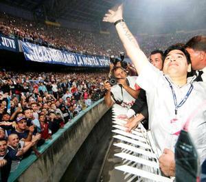 Sis fets històrics en la vida de Maradona