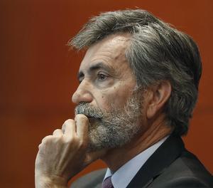El president del Tribunal Suprem (TS) i del Consell General del Poder Judicial (CGPJ), Carlos Lesmes.
