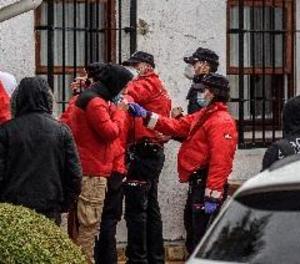 Sorprenen 67 joves tota la nit de festa en un convent