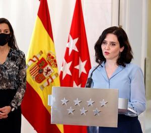 Isabel Díaz Ayuso va anunciar ahir la convocatòria d'eleccions anticipades per al 4 de maig.