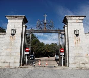 Porta d'entrada al recinte de la Vall dels Caidos