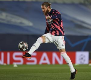 El jugador Sergio Ramos