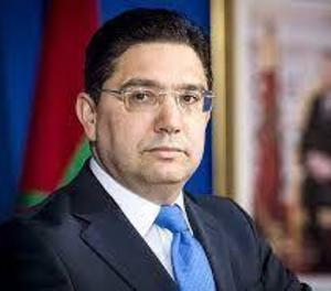 Imatge del ministre d'exteriors del Marroc