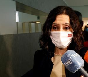 La presidenta madrilenya i candidata popular a la reelecció, Isabel Díaz Ayuso