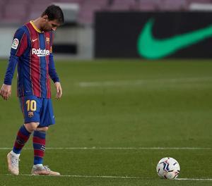 El davanter argentí del FC Barcelona, Leo Messi.