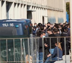 Brot de coronavirus en els antisturbis de la Guàrdia Civil a Catalunya encara no vacunats