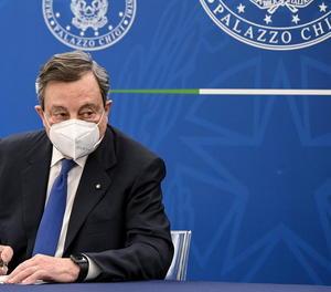 Draghi diu que abans d'alliberar patents, els EUA han de desbloquejar exportació