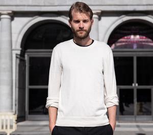 El director de cine suec Magnus Von Horn durant la presentació de la seua pel·lícula 'Sweat', aquest dimarts a Madrid.