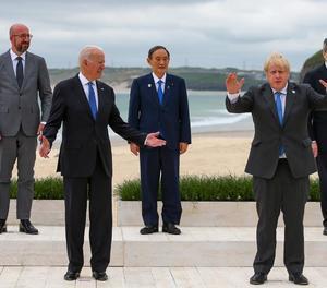 Biden posa el focus a la Xina en el G7 i aposta per un gran pla d'infraestructura