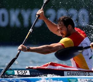 El lleidatà Saúl Craviotto passa a semifinals en K1 200 com a segon de la seua sèrie