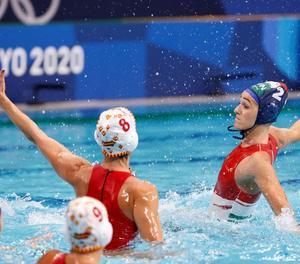 La selecció femenina espanyola de waterpolo lluitarà per l'or davant dels Estats Units