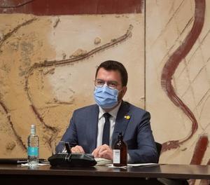 Aragonès suspèn agenda per parlar amb els consellers i l'entorn de Puigdemont