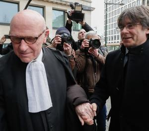 El Tribunal de la UE va dir en la seua interlocutòria que l'euroordre contra Puigdemont estava suspesa