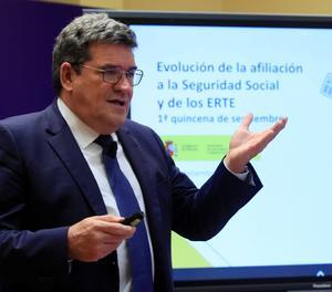 El ministre d'Inclusió, Seguretat Social i Migracions, José Luis Escrivá, en una fotografia d'arxiu.