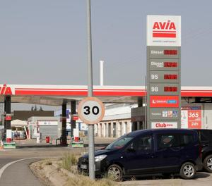 El preu de la gasolina continua la seua escalada i se situa en nivells de 2013