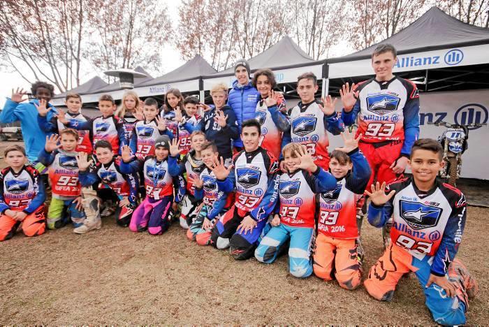 Veinte niños y niñas de 6 países toman parte estos días en la segunda edición del Allianz Junior Motor Camp