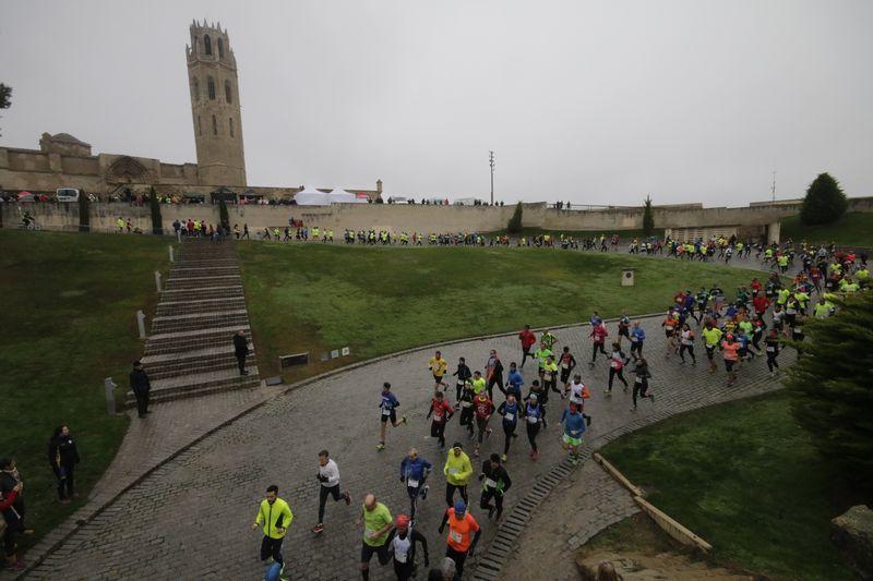 La prueba atlética contó con un millar de participantes.