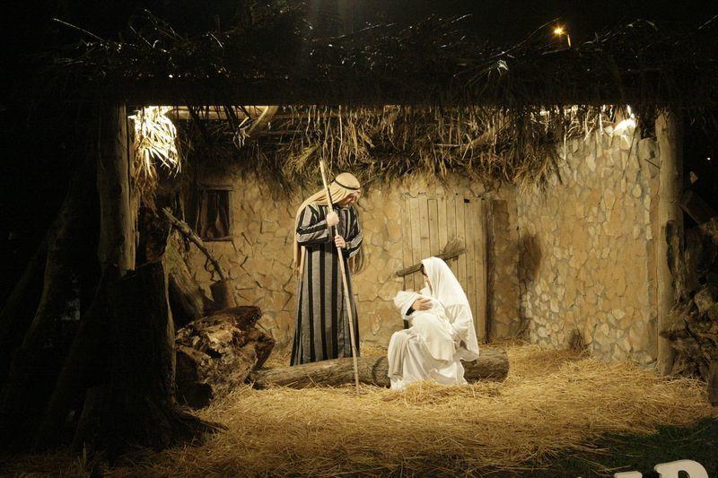 El pessebre vivent 'ecològic' del barri lleidatà rep uns 3.000 visitants entre Nadal i Sant Esteve.