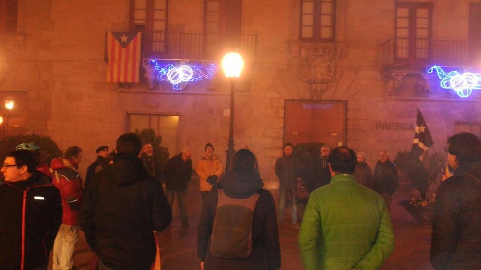 Imatges de les manifestacions a les poblacions de Lleida