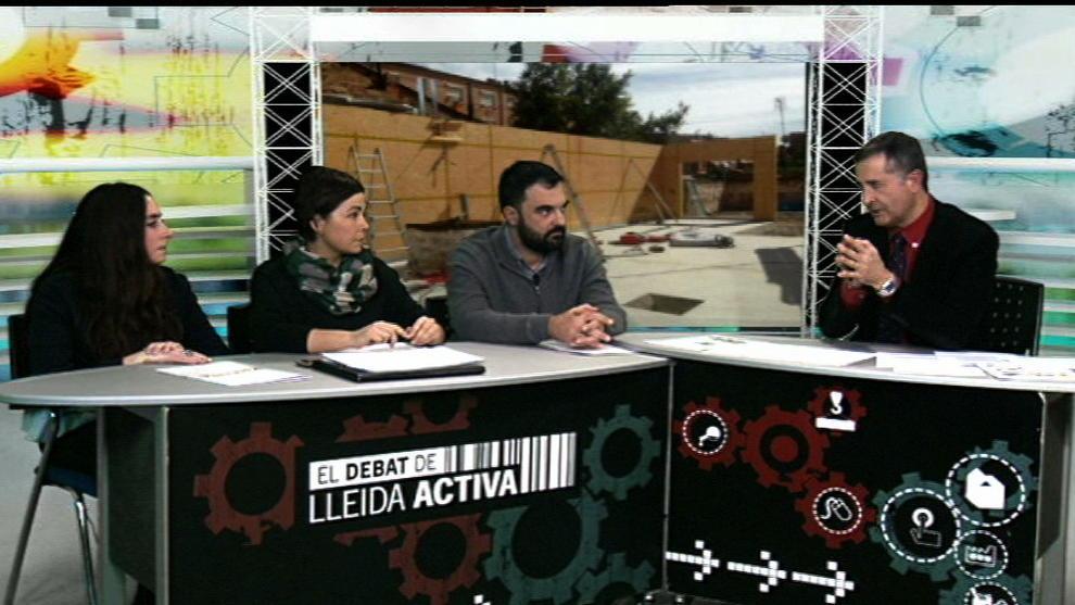 Casas De Madera Autosuficientes Hoy En El Debat De Lleida Activa