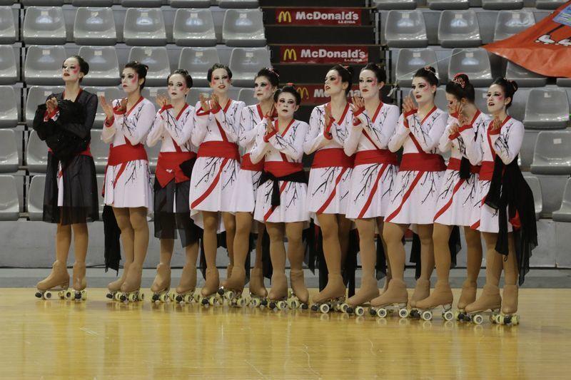 El Maçanet se proclamó campeón y el patinaje leridano estuvo muy bien representado por el Torregrossa, decimocuarto.