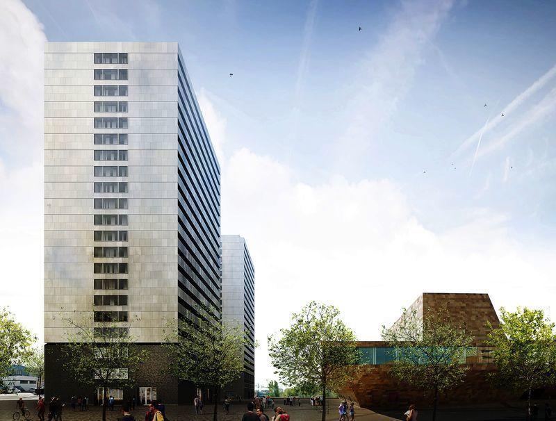 BBVA ha pedido licencia a la Paeria para construir las dos torres junto a la Llotja