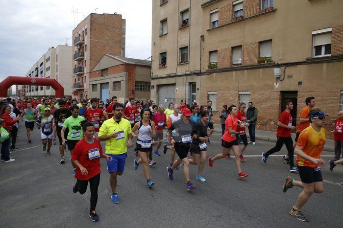 Més de 2.000 corredors van participar en les diferents modalitats que oferia la carrera solidària