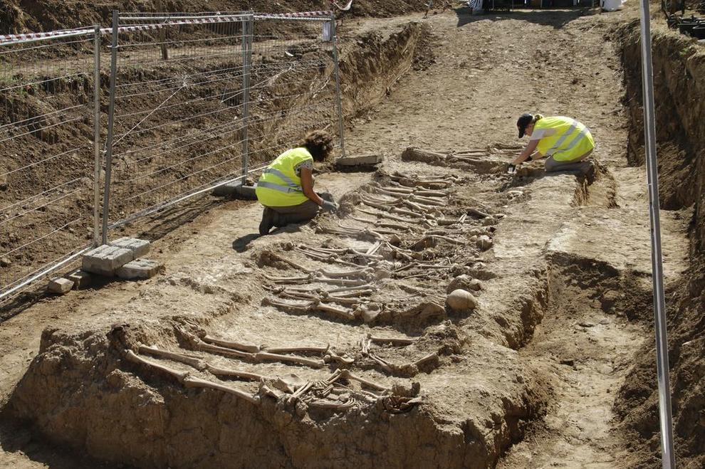 Troben les restes de disset soldats del bàndol franquista